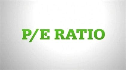 price  earnings ratio explained
