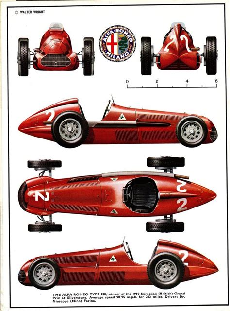 vintage alfa romeo race cars 3009 best images about art motors on pinterest