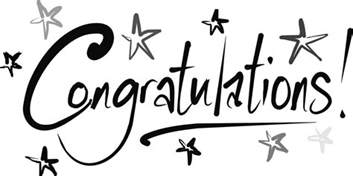 Image result for Congratulations Clip Art