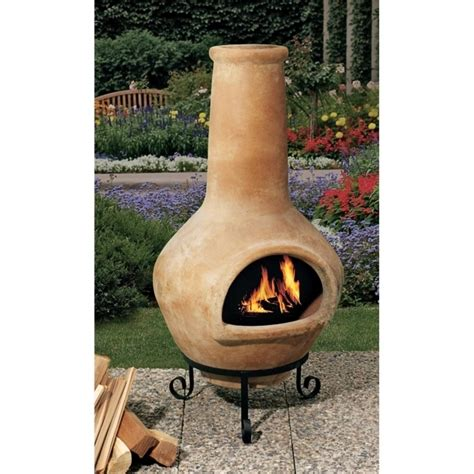 chiminea landscape ideas stunning garden treasures mexican chiminea pit garden