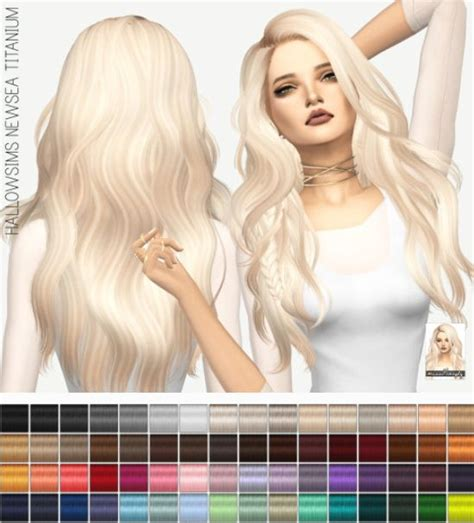 sims 4 hair miss paraply newsea s titanium solids sims 4 downloads