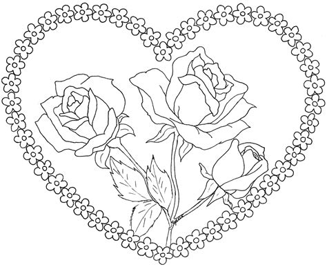 dibujos de flores para colorear free coloring pages of pajaritos enamorados