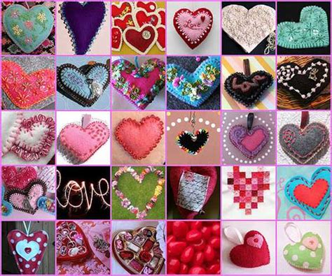 Handmade And Craft Ideas - handmade hearts decorations that make great gifts 50