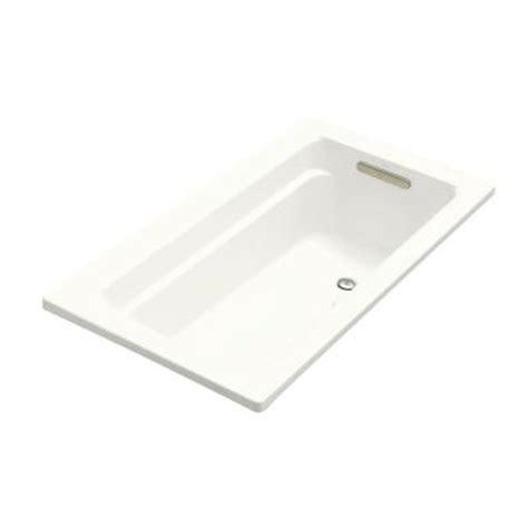 kohler archer 5 ft bubblemassage air bath tub in white k