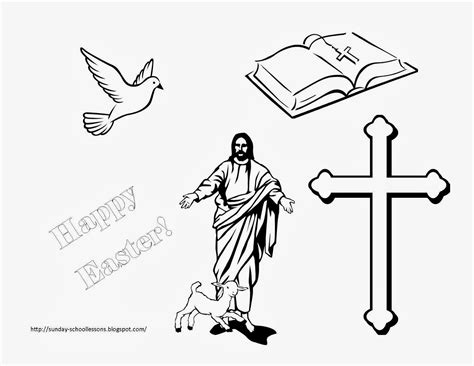 free coloring pages of jesus easter story