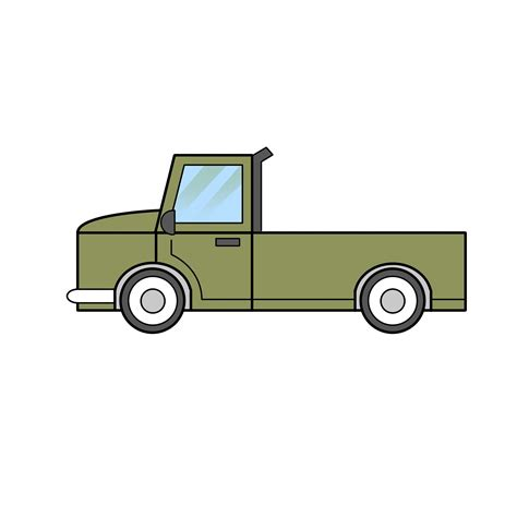 Truck Drawing Easy 2 easy ways to draw a truck with pictures wikihow