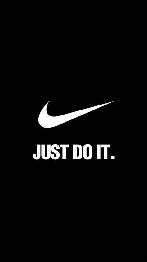 Cool Nike Logo Just Do It Iphone All Hp al90 nike just do it simple minimal logo papers co