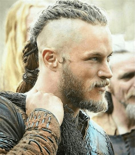 vikings rollo braided hair vikings is showing us all how to rock the man bun the