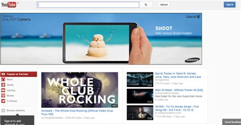 youtube layout explained trick to get back old youtube look layout video