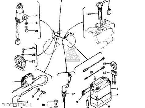 points ignition wiring diagram for xs650 small engine