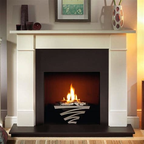 gallery brompton limestone fireplace suite with optional