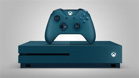 You Can Now Get The Xbox One S In Deep Blue And Storm