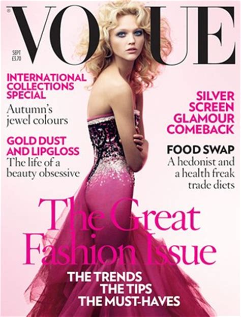 Vogues May 2007 Cover by Top 25 Pink Vogue Magazine Covers Inspiration By Color