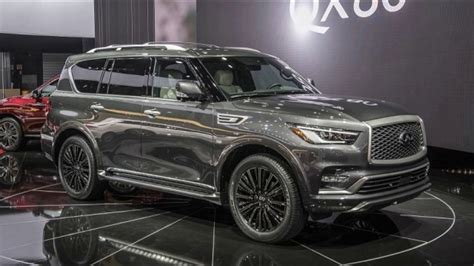 Infiniti Qx80 2020 Interior by 2020 Infiniti Qx80 New Suv Information And Details