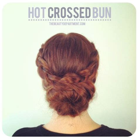 how to make a bun out of braids beat the heat the beauty department braids and braided buns