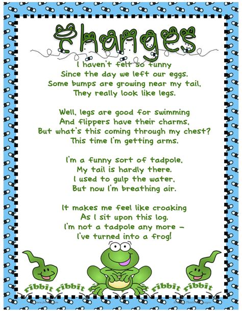 my friend cayla change language frog poems