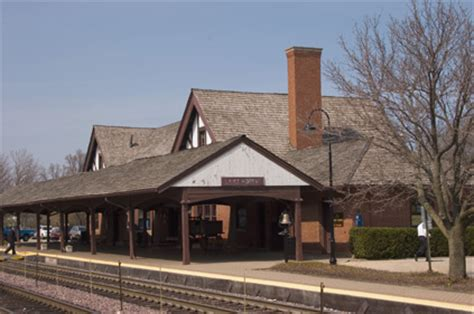 lake forest station slated for new look lake forest