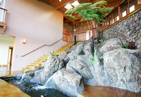 waterfall house interior waterfall house indoor landscape hunton conrad associates