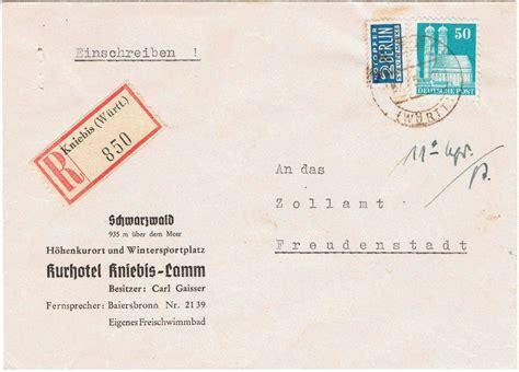 Eingeschriebener Brief Schweiz Vorlage Philaseiten De Portobestimmung Belegen