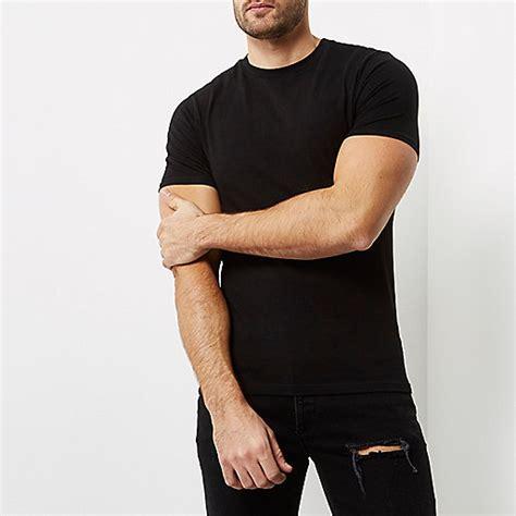 Kaos Polos Spandek Tc black fit t shirt plain t shirts t shirts vests