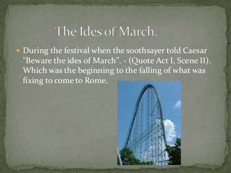 theme quotes in julius caesar image gallery ides of march quotes