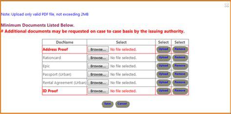 domicile certificate form karnataka images