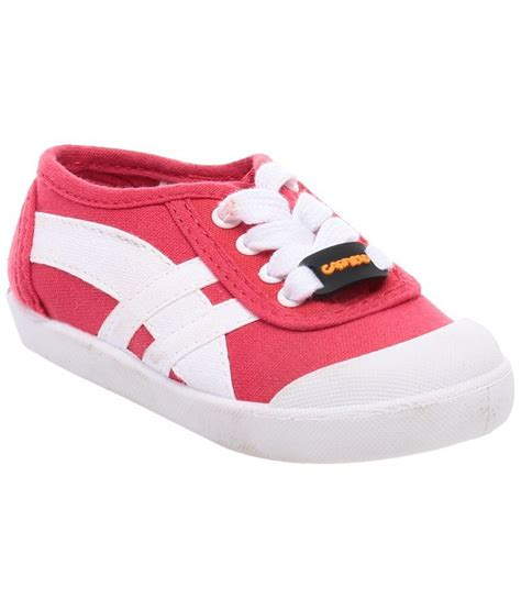 garfield pink white canvas shoes for boys price in india