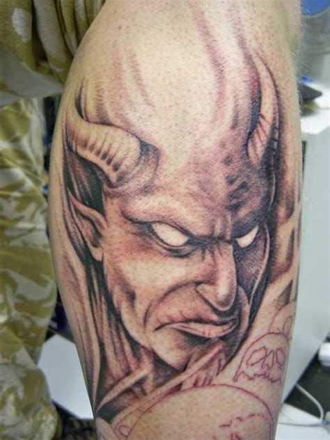 satan tattoo images designs