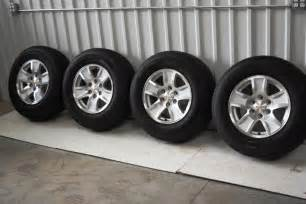 Chevy Truck 17 Inch Wheels Chevy 17 Inch Alloy Wheels Genuine Gm Aluminum Rims With