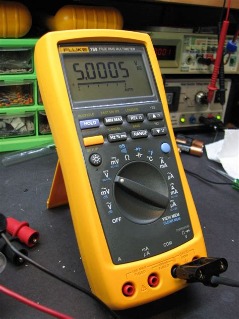 Multimeter Fluke 189 fluke 189 clean up mr modemhead