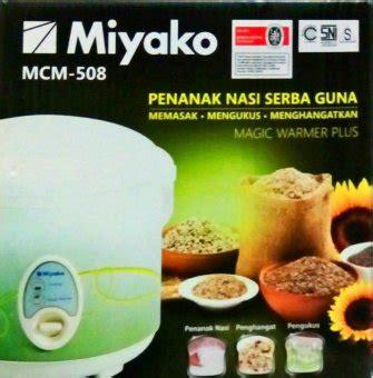 Miyako Mcm 507 1 8 L Rice Cooker harga rice cooker miyako murah terbaru februari 2017
