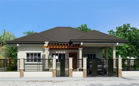 houses design three single storey houses with elegance amazing
