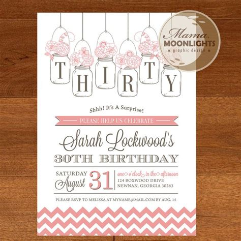 printable birthday invitations for 70th 30th 40th 50th 60th 70th 80th 90th birthday party
