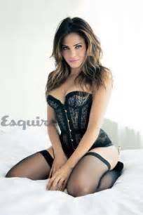 jenna dewan tatum in lingerie for esquire march 2013