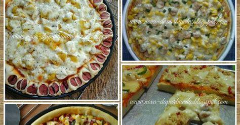 membuat roti pizza empuk dapur bunda enjoy your homemade homemade quot pizza crust