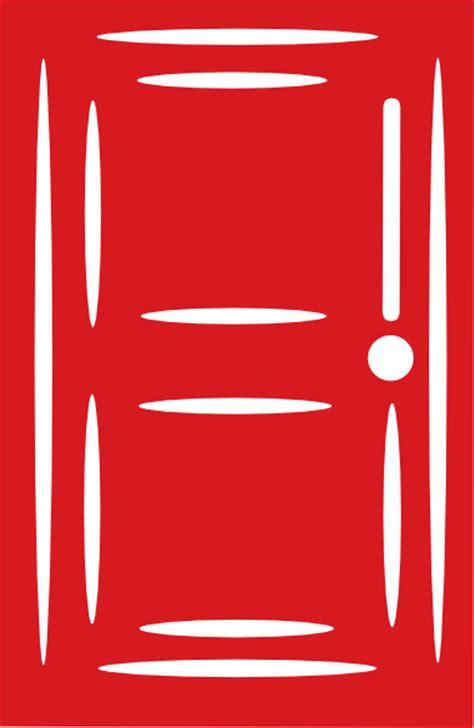 red door door2 clip art at clker com vector clip art online