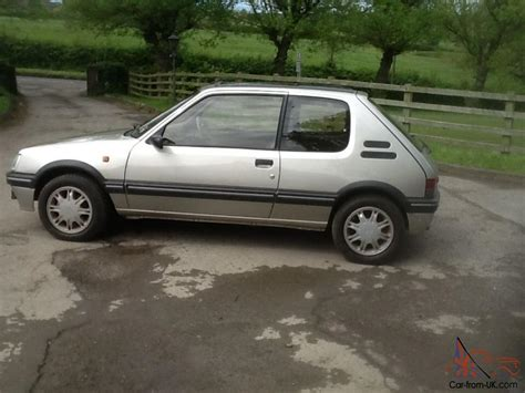 peugeot car history peugeot 205 gentry immaculate genuine full service history