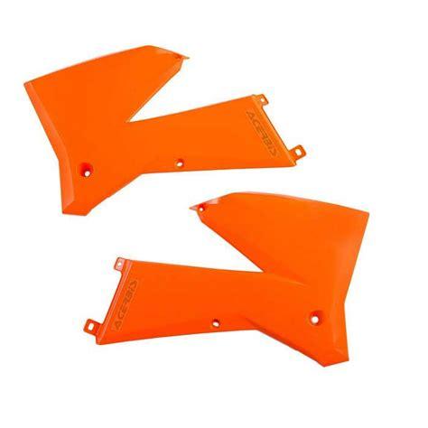 Ktm Radiator Shrouds Ktm Radiator Shrouds Exc Mxc Xc W Sx Sx F 05 07 Orange