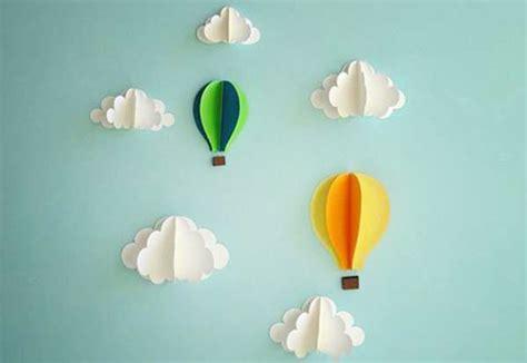 cara membuat hiasan dinding awan 7 hiasan dinding kelas tk paud dari kertas origami