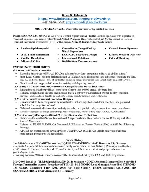 air traffic controller resume botbuzz co