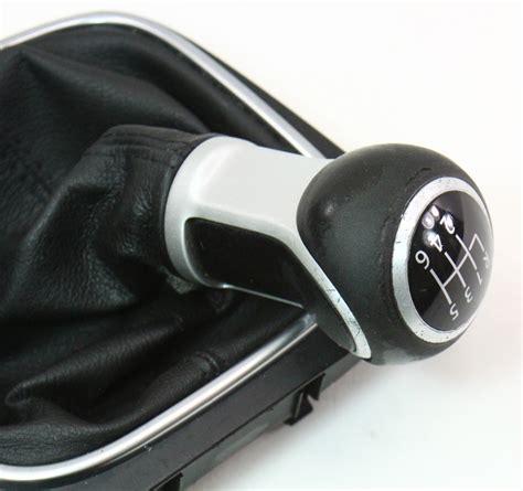 Vw Shifter Knobs by 6 Speed Shifter Shift Knob Boot Trim 05 10 Vw Jetta Gti