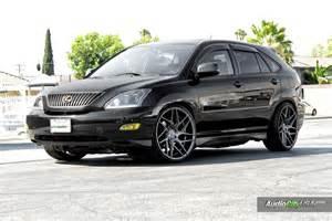 lexus rx 330 custom wheels blaque 22x10 5 et