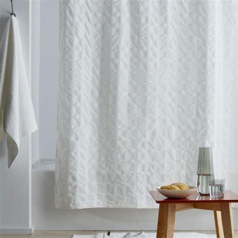 company store organic cotton   white shower