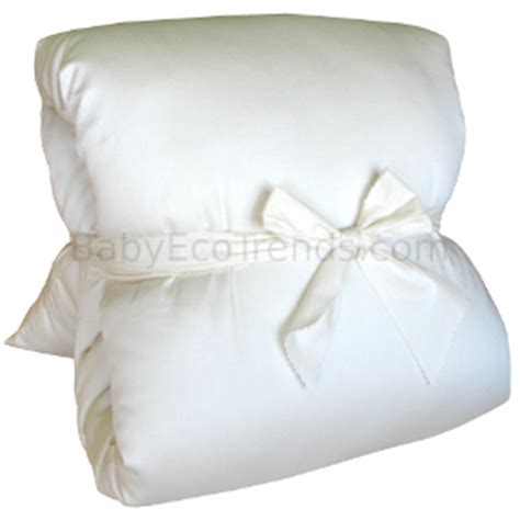 Co Sleeper Pillow by Co Sleeping Solution Organic Cotton Eco Wool