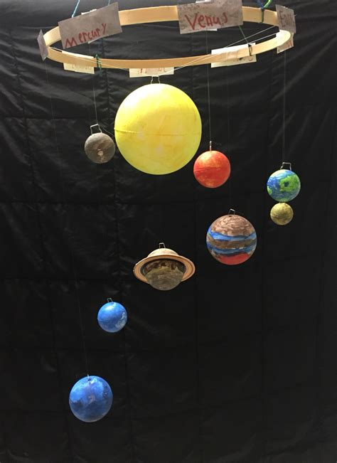 hanging solar system for room rustic formal dining