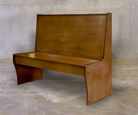 Wood Banquette Seating veneer wood booth banquette dm seating mfg