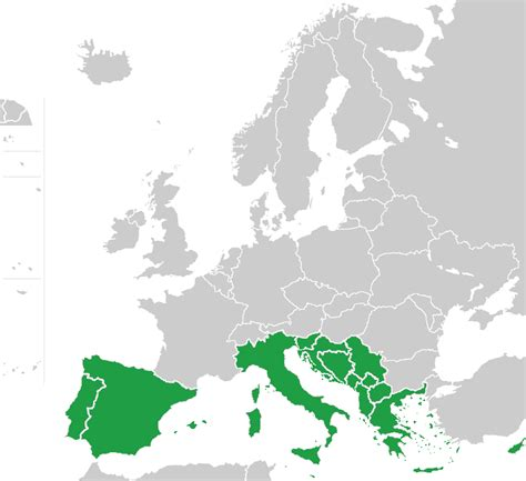 south of europe map file southern europe map green png wikimedia commons