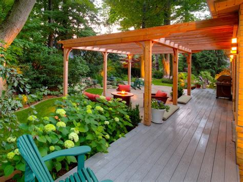 backyard pergolas 20 outdoor structures that bring the indoors out hgtv