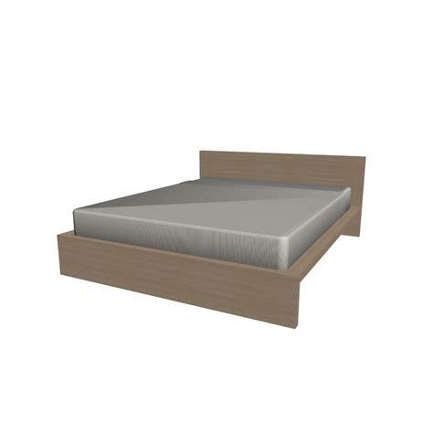ikea bed malm malm bed frame 160x200cm design and decorate your room in 3d