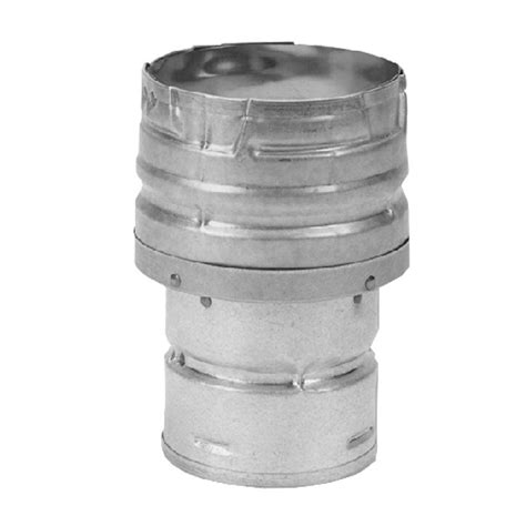 Increaser 4 X 1 1 4 Inch Flok Sok D Superlon Reducer Flock Sock duravent pelletvent multi fuel 3 in 4 in chimney stove pipe increaser 3pvm x4 the home depot